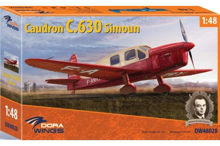 Caudron C.630 Simoun - 1/48 scale model construction kit
