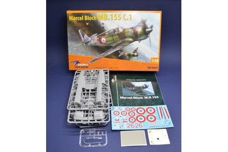 Marcel Bloch MB.152C.1 - 1/48 scale model construction kit