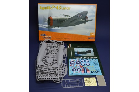 Republic P-43 Lancer - 1/48 scale model construction kit