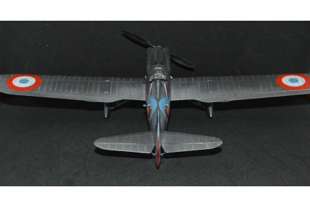 Dewoltine D.500 model construction kit