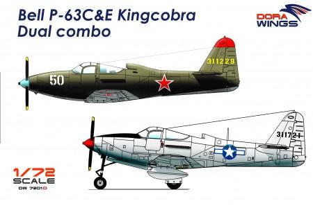 Bell P-63C&E Kingcobra Dual combo