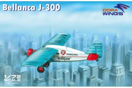 Bellanca J-300 - ready to assemble scale models kit.