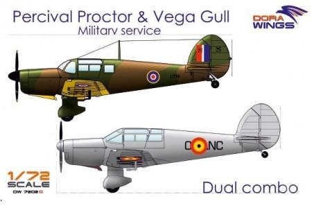 Percival Proctor & Vega Gull (2 in 1)