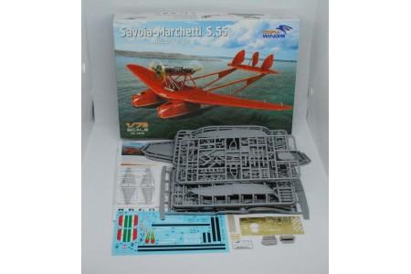 Savoia-Marchetti S.55 - 1/72 scale model construction kit