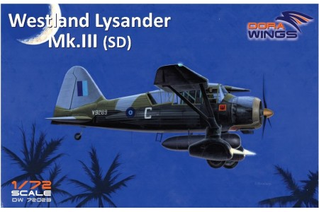 Westland Lysander Mk.III (SD) -  Ready to assemble scale models kit