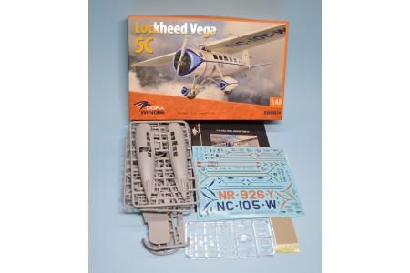 Lockheed Vega 5C -  Ready to assemble scale models kit