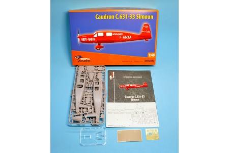 Caudron C.631/633 Simoun -  1/48 scale model construction kit