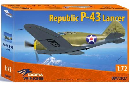 Republic P-43 Lancer - 1/72 Ready to assemble scale models kit