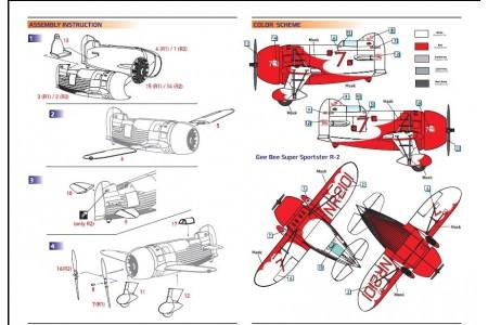 GeeBee Supersporster R1&R2 DW14402