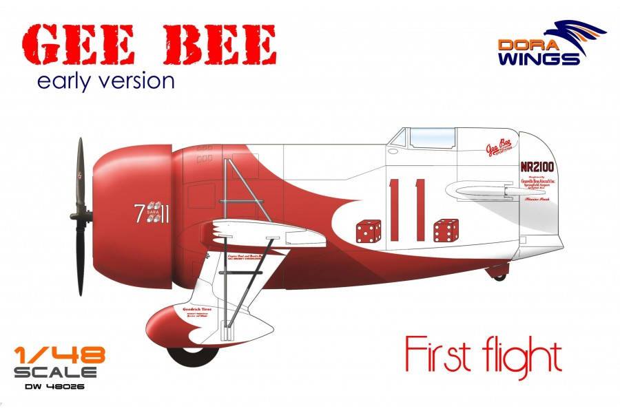 Gee Bee Super Sportster R-1 (early version)