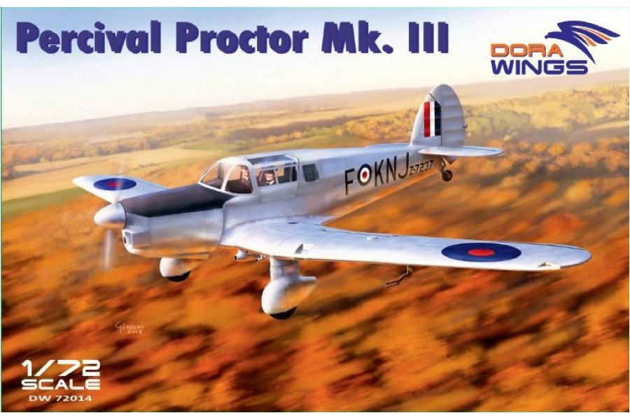 Percival Proctor Mk.III DW72014