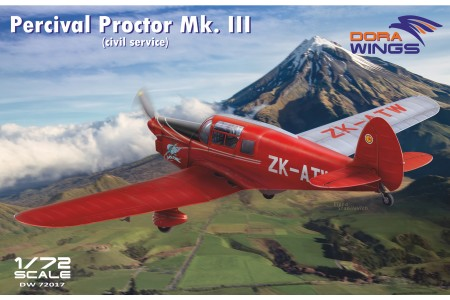 Percival Proctor Mk.III civil registration DW72017